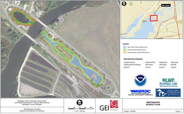 Veterans Memorial Park | Restoration Map